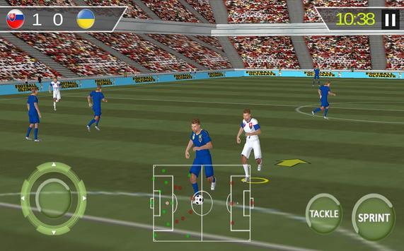 Football Real Hero; Play American Free Soccer Game screenshot 6