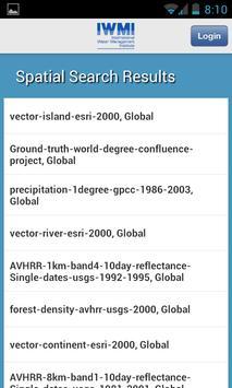 IWMI Water Data apk screenshot