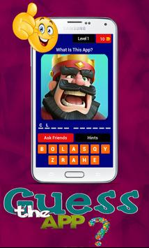 GUESS THE APP QUIZ poster