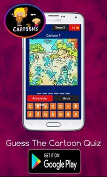 Guess The Cartoon Quiz Trivia screenshot 3