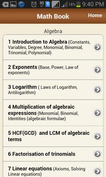 Math Book screenshot 3