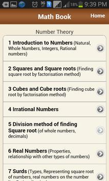 Math Book screenshot 2