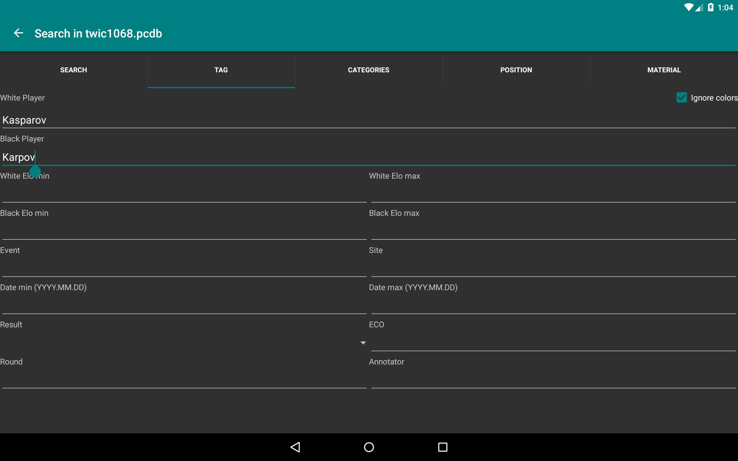 Perfect Chess Database Demo for Android - APK Download