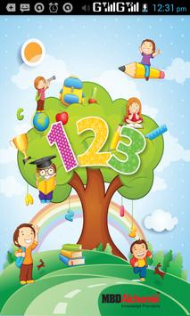 123 kids poster