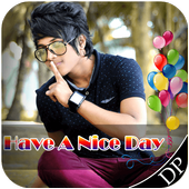 Nice Day Profile DP Maker 2018 icon