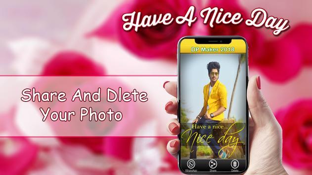 Nice Day Profile DP Maker 2018 screenshot 5