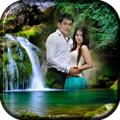 Waterfall Collage Photo Editor icon