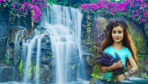 Waterfall Collage Photo Editor poster