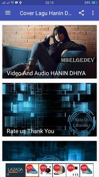 Cover Lagu Hits Hanin Dhiya Mp3 screenshot 2