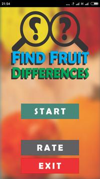 Find Fruit Differences poster