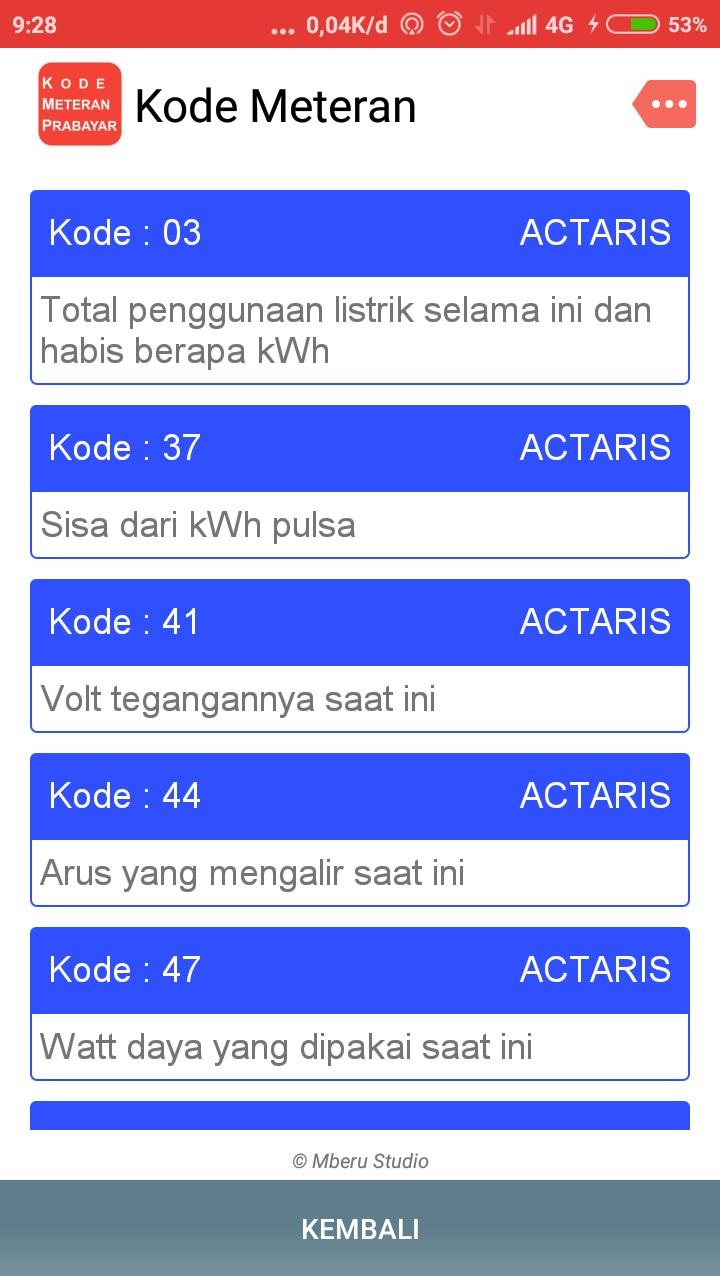 Kode Meteran For Android Apk Download