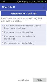 Soal Latihan SIM C poster