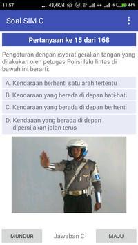 Soal Latihan SIM C screenshot 2