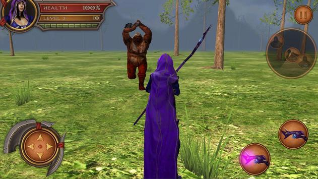 Elementalist Survivor Sim 3D apk screenshot
