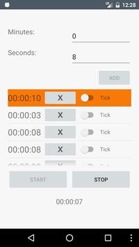 Custom Workout Timer screenshot 2