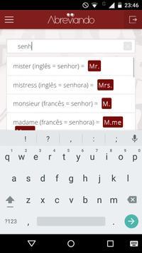 Abreviações das Palavras apk screenshot
