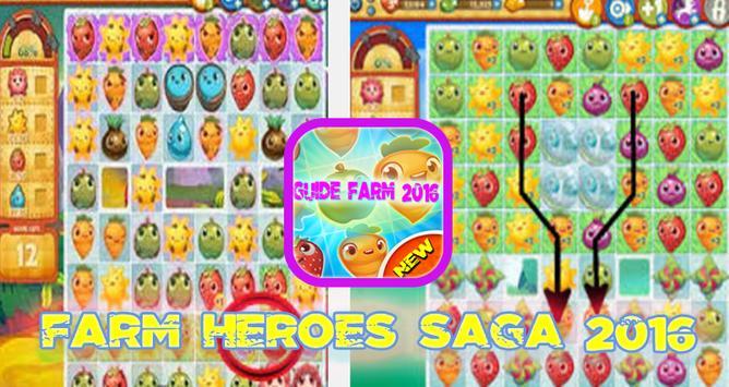 Guide Farm heroes Saga 2016 poster