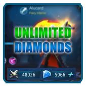 Instant mobile legends free diamond Daily Rewards icon
