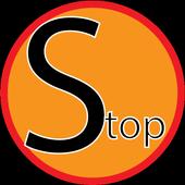 Stop the wheel icon