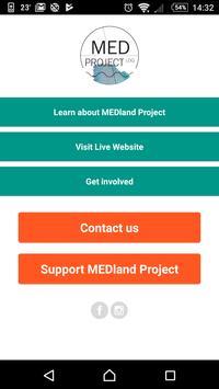 MEDland Project poster