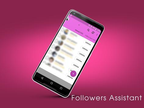 Followers Assistant screenshot 1
