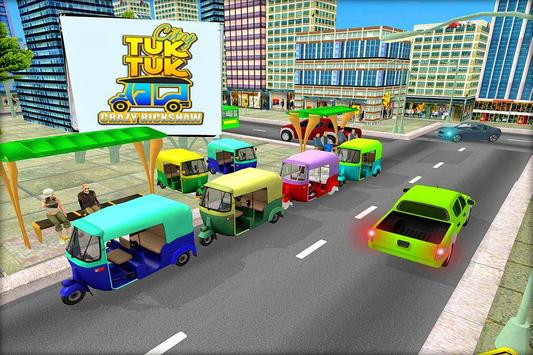 Tuk Tuk Rickshaw Rush Drive 3D poster