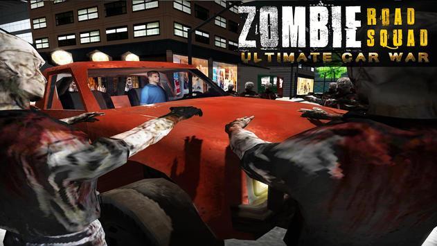 Zombie Road Squad: Car War 3D apk screenshot