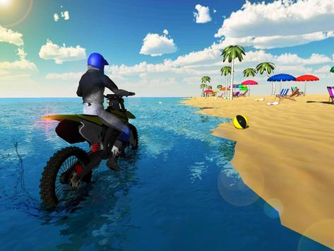 Crazy Beach Bike Stunts Sim 3D apk screenshot