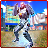 City Robot Battle War Hero icon