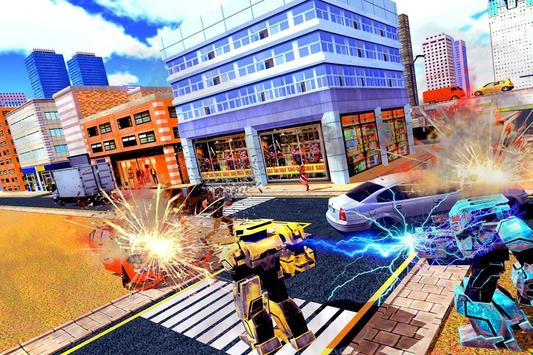 City Robot Battle War Hero apk screenshot