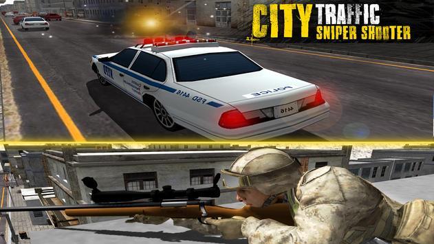 City Traffic Sniper Shooter 3D apk screenshot