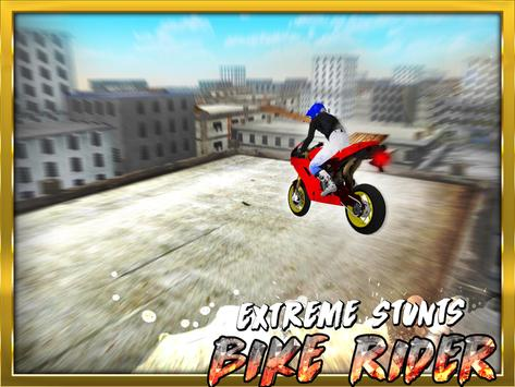 Extreme Stunts Bike Rider 3D apk screenshot