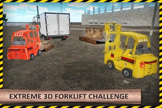 Heavy Forklift Drive Challenge poster