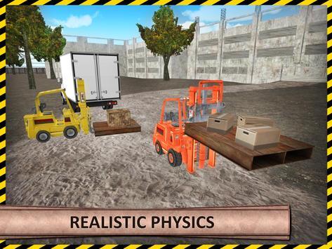 Heavy Forklift Drive Challenge apk screenshot