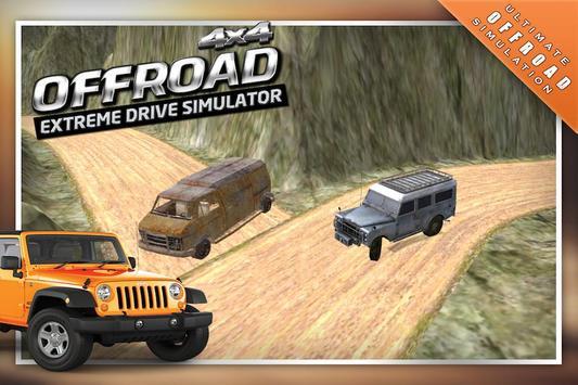 4x4 Offroad Drive Simulator 3D screenshot 3