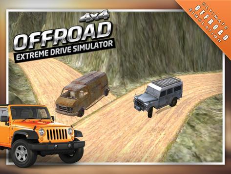 4x4 Offroad Drive Simulator 3D screenshot 8
