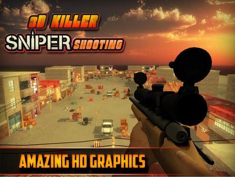 3D Killer Sniper Shooting apk screenshot