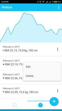 Lighten Up - Weight Tracker apk screenshot