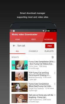Mobiz Tube Video Downloader poster