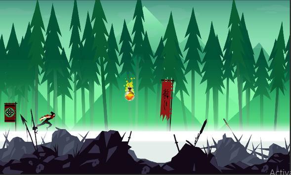 Mountain Ninja Dash screenshot 3