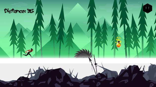 Mountain Ninja Dash screenshot 12