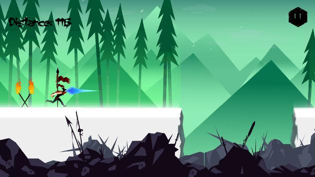 Mountain Ninja Dash screenshot 1