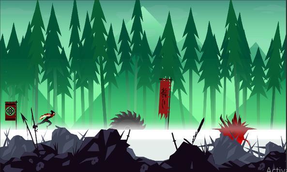 Mountain Ninja Dash screenshot 2