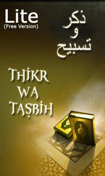 Thikr & Tasbih LITE poster