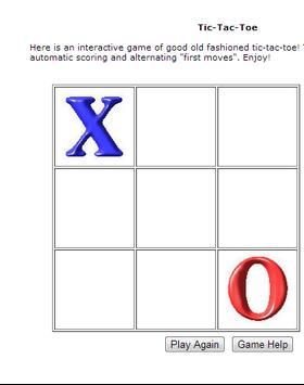 Tic Tac Toe - Can you beat it? poster