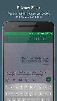 McAfee Safe Keyboard │ Privacy apk screenshot
