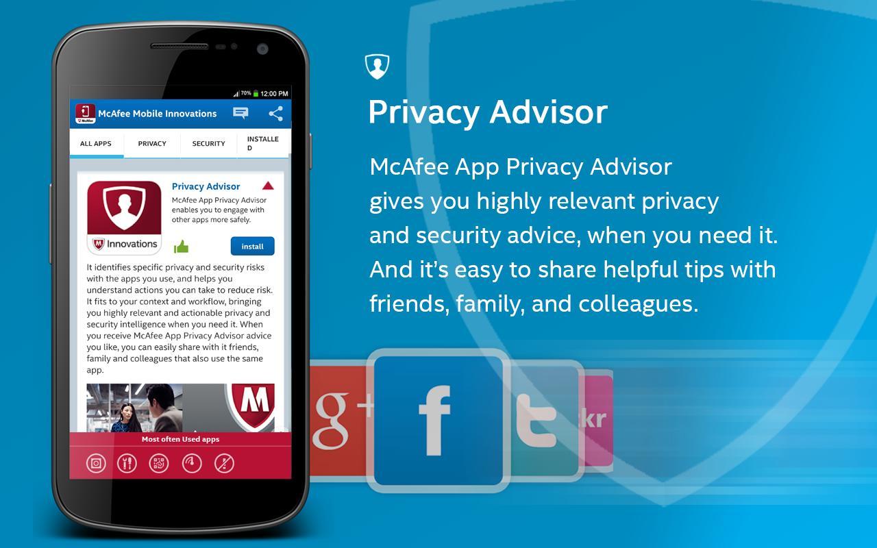 mcafee mobile security app apk