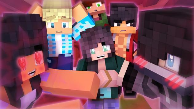 Aphmau Skins for Minecraft PE poster