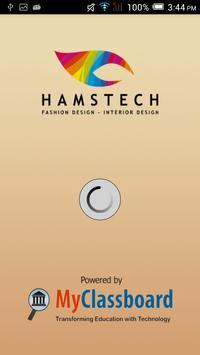 Hamstech Student Portal poster