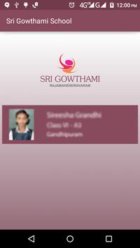 Sri Gowthami Parent Portal screenshot 1